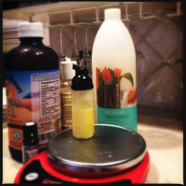 aloe shave cream